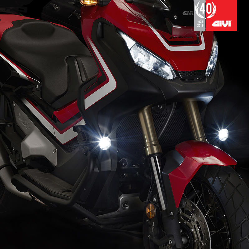 GIVI+lan%C3%A7a+os+novos+far%C3%B3is+S322+Led+Projectors%21